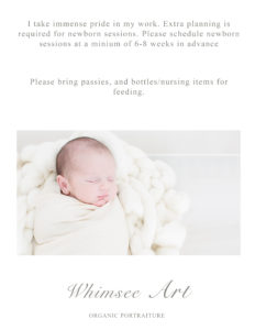 Roanoke VA Newborn Photographer | Whimsee Art Photography | www.whimseeart.com