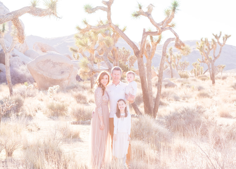 Joshua Tree Family Session | Joshua Tree National Park | Souther California Family Photographer | Whimsee Art Photography | Roanoke Photographers