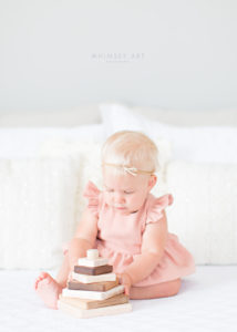 Violet Turns One | Roanoke Child Photographers | Whimsee Art Photography