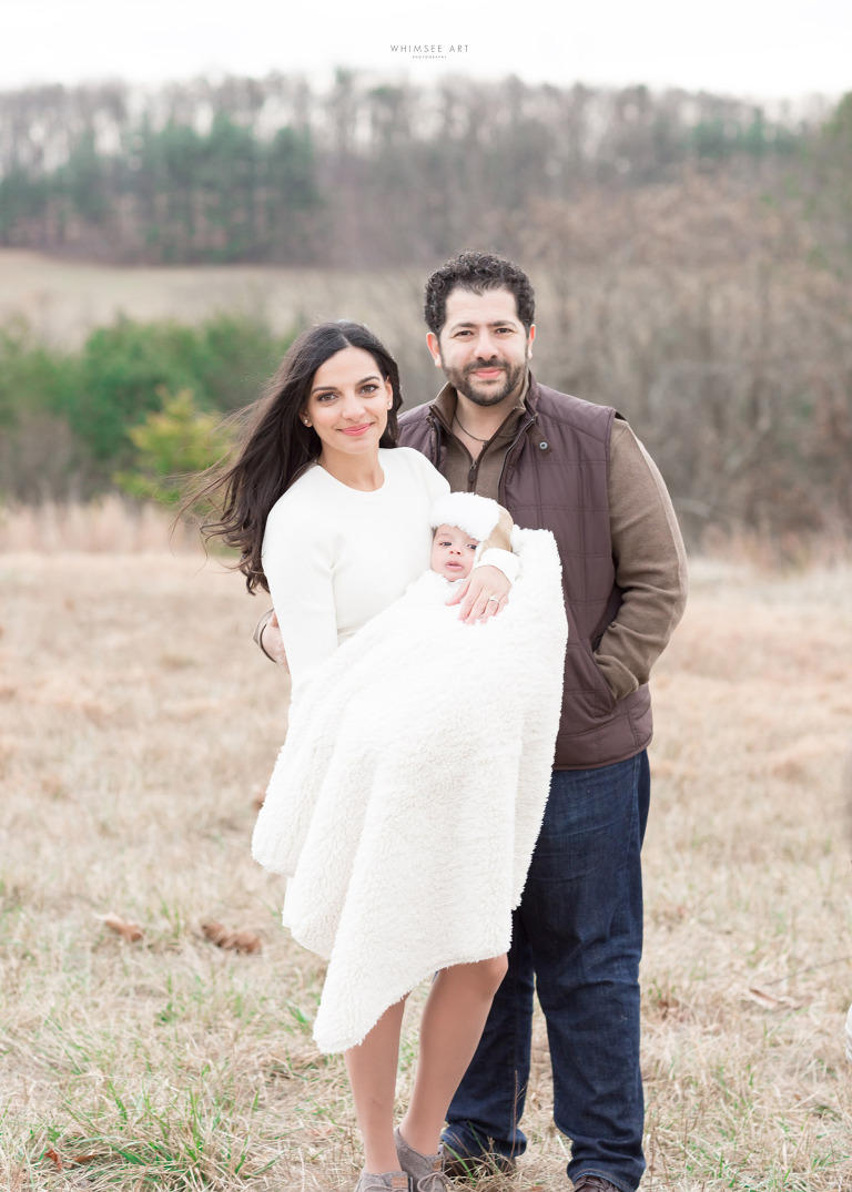 Winter Family Session | Roanoke Photographer | Whimsee art Photography