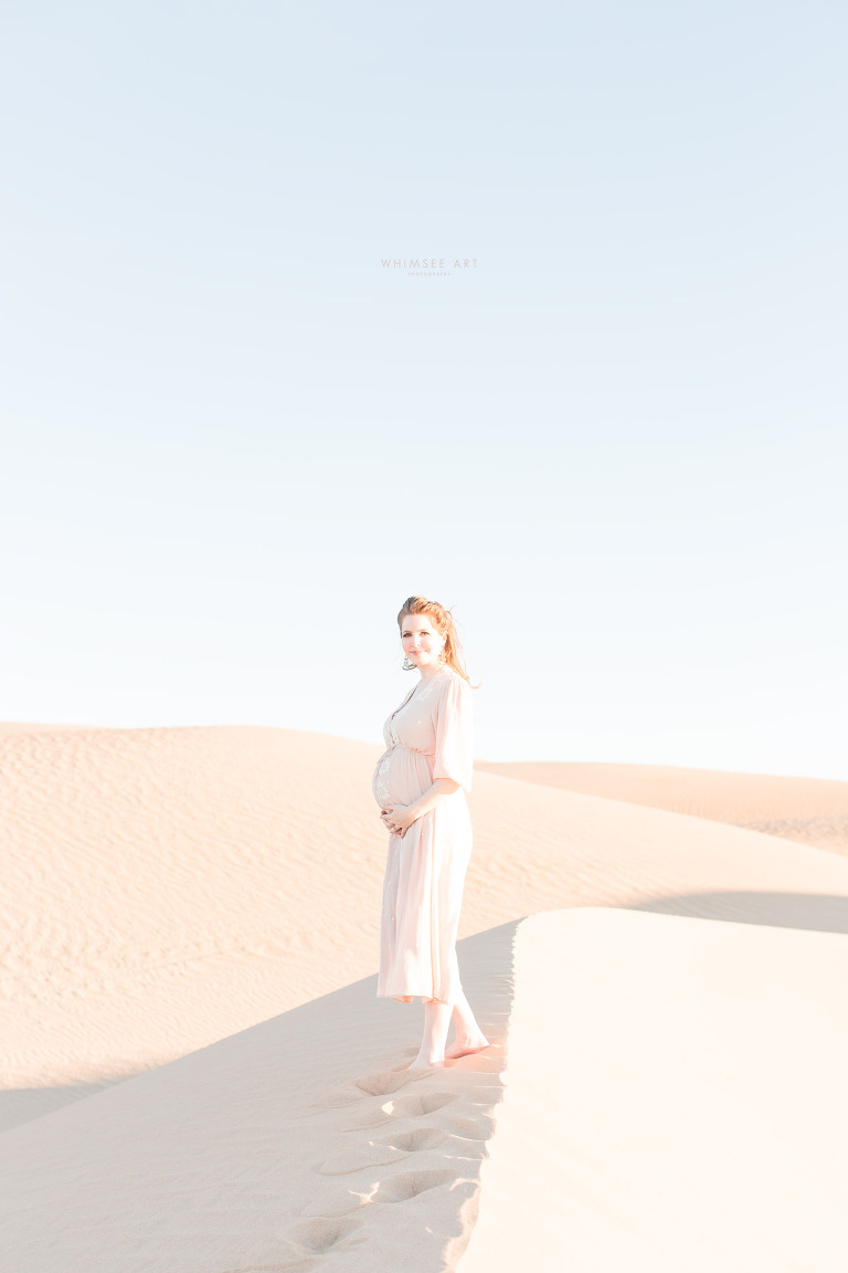 Imperial Sand Dunes Maternity/Family Session | Imperial Sand Dunes | Maternity Photographer | Whimsee Art Photography