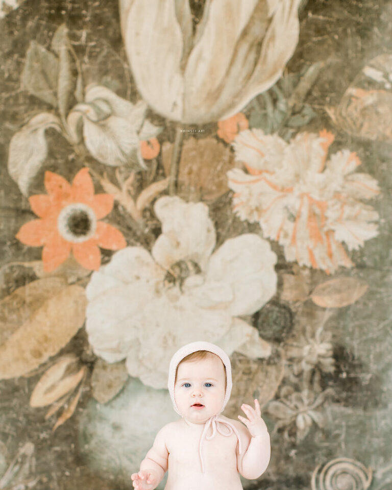 Geneva's 6 month Glimpse | Roanoke Baby Photographer | Whimsee Art Photography