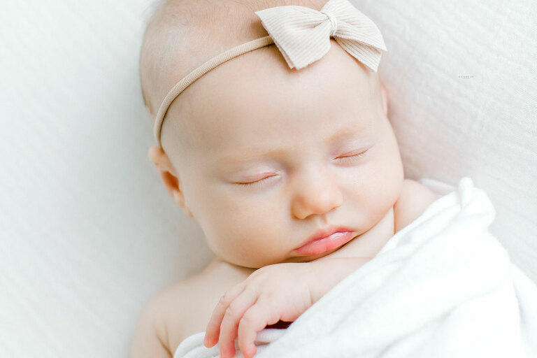 Sweet and Simple Newborn Session   Roanoke Newborn Photography   Roanoke Newborn Photographers