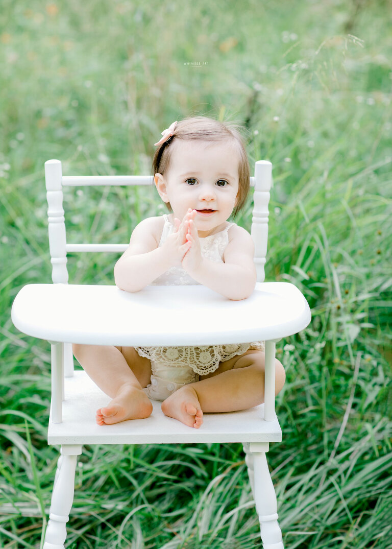 Celebrating Lillian | One Year Photos | Whimsee Art Photography